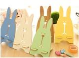【可愛い風登場!】ウサギ /) /) スマホ立て スタンド・ホルダー 六色 使いやすい