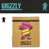 Grizzly Griptape HOVER BEAR PIN  15483