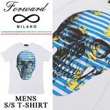 ◇2017春夏新作◇Forward Milano フォワードミラノ スカルプリント Tシャツ<MARINA><ラスト7点>