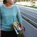【オープニングSALE】イタリアンリネン フレアスリーブニット
