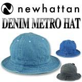 NEWHATTAN DENIM METRO HAT  15497