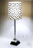 卓上ランプ【-シェードランプ-豹柄/ヒョウ柄】間接照明/Tablelamp/インテリアライト/デスクランプ