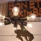 アイアン6灯ランプ