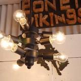 アイアン9灯ランプ