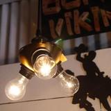 ゴールド3灯ランプ
