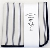 Handkerchief Stripe White Navy