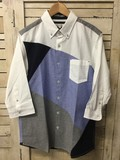 【2017年SS新作】オックス バイヤス ギミック BDシャツ