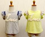 【2017年春夏新作】Luceアップリケ付き 半袖Tシャツ
