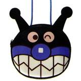 【アンパンマン】[ANJ-1001]ミニポシェット(ばいきんまん)