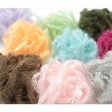 Multipurpose Fancy Silk Mohair Spiral