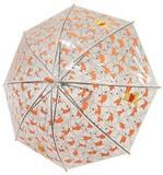 【2017年NEW!!!】☆くまのプーさん☆透明POE子供傘☆50cm☆オレンジ☆