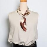 リングクリップ付 スカーフ