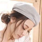 ベレー帽/コットンベレー/ハンチング/帽子/ハット/アーミーハット◆425083