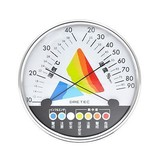 熱中症・インフルエンザ警告計温湿度計
