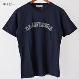 【2017春夏新作】CALIFORNIA 綿 100% クルーネック プリント 半袖 Tシャツ