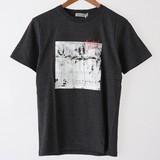 【2017春夏新作】綿 100% クルーネック フォト プリント 半袖 Tシャツ
