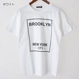 【予約販売4月末納品】NEW YORK CITY 綿 100% クルーネック プリント 半袖 Tシャツ