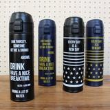 【新発売】One pushステンレスボトル メンズライクなボトルシリーズ