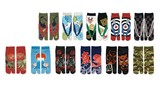 【Cool Japan】【服飾小物】 小粋な男の足袋ソックス(スニーカー丈)【富士山/福助 他全11柄】<和柄>