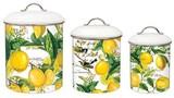 【新商品】ミッシェルデザインワークス キャニスター3個セット【レモンバジル】