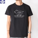 【2017SS新作】NanoTec 刺繍 半袖Tシャツ(PIG)