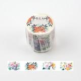 BGM マスキングテープ 「ライフ 鳥と花と」 40mm MASKING TAPE/マスキングテープ