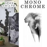 ■2017SS 新作■ Monochrome Elephant