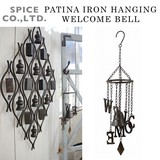 ■2017SS 新作■ PATINA IRON HANGING WELCOME BELL