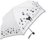 2017 S/S All Weather Umbrella Flower Musical Note Cat Easily Countermeasure