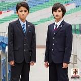 (卒業フォーマル男の子)新作JFAオフィシャルストライプスーツセット 入園入学/卒園卒業