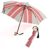 雨傘(折傘)PARISシリーズ(ストライプ)