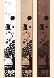 【送料無料】キャラクター木製身長計 くまのプーさん