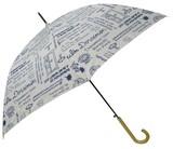 【キャラクター】【レディース傘】ドラえもん アルファベット柄60cmジャンプ傘