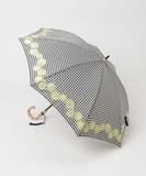 晴雨兼用(長傘)PARISシリーズ(shell刺繍)バンブー手元