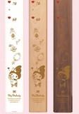 【送料無料】キャラクター木製身長計 マイメロディ
