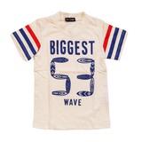 Jersey Stretch Border Board Short Sleeve T-shirt