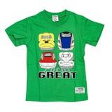【Sn't kids】天竺 新幹線半袖Tシャツ<即納>