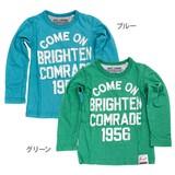 【VICTORY OF ALPHA】天竺 アメカジ長袖Tシャツ(100cm〜130cm)<即納>