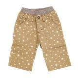 【BAB CHIP】高密度織物 6分丈星総柄パンツ<即納>