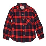 Checkered Pattern Checkered Long Sleeve Shirt