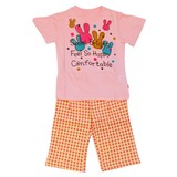 Jersey Stretch Rabbit Jersey Stretch Short Sleeve Pajama