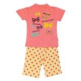Jersey Stretch Ribbon Jersey Stretch Short Sleeve Pajama