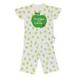 Jersey Stretch Apple Jersey Stretch Short Sleeve Pajama