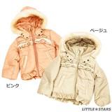 【ZUCCHINI】タフタ 中綿入りジャケット<即納>