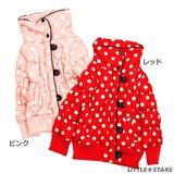 【ZUCCHINI】中綿 でか衿ジャケット(100cm〜130cm)<即納>