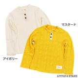 【PAL HOUSE】ジャカード天竺 ハイネックTシャツ(100cm〜130cm)<即納>