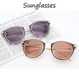 【サングラス UVカット/フレームサングラス/メタルサングラス/オシャレ/眼鏡/アクセサリー】