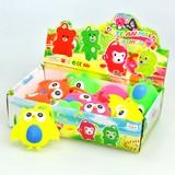 <光るおもちゃ・玩具><おもしろバラエティ雑貨>ピカピカフクロウヨーヨー (商品No.206-797)