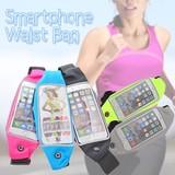 【特価】スマホウエストバッグ ジョギング ウエストポーチ スマートフォン iPhone ランニング