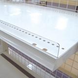 [店舗什器・商品陳列・システム什器・備品・プライス表示]プラストッパー(単板)